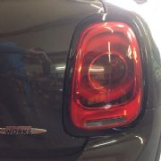 Rear Light rings - Black for 3rd gen MINI